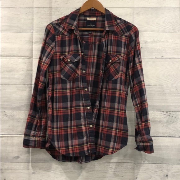 7d45e156b American Eagle Outfitters Tops | Ae Flannel Shirt | Poshmark
